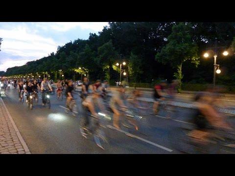 Critical Mass In Berlin-Friedrichshain, Warschauer Strasse - Radwelt Berlin
