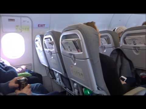 Finnair Flight AY651 Airbus A319 Helsinki - Oslo (HEL-OSL) 16 APR 2016