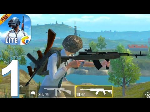 PUBG MOBILE LITE - Gameplay Walkthrough Part 1 Solo Win (Android, IOS Game)