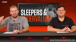 2018-2019 Fantasy Basketball Sleepers and Undervalued Players