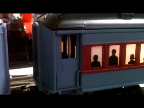 Modelling Railway Train Track Plans -The Polar Express Lionel Trainsounds Tender and Conductor Car