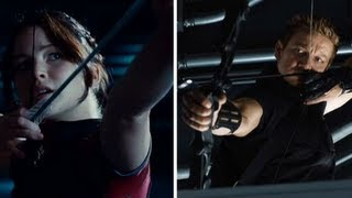 The Avengers vs. Hunger Games — Who Would Win an Archery Showdown?