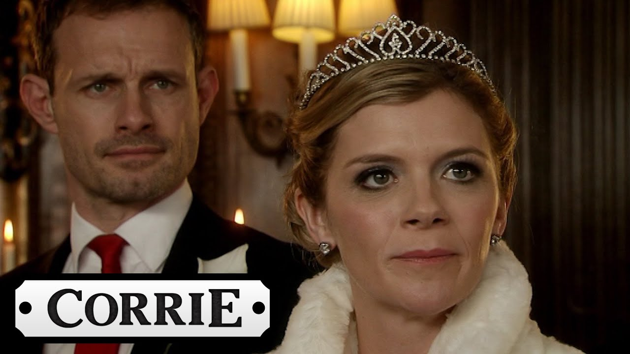 Coronation Street Corrie Christmas 2017 Eva Interrupts Leanne S Wedding