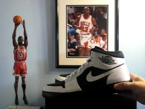 huge selection of cb339 a67e1 AIR JORDAN ALPHA 1 NIKE ID motorsports oreo colorway - YouTube