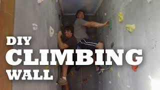 DIY Climbing Wall