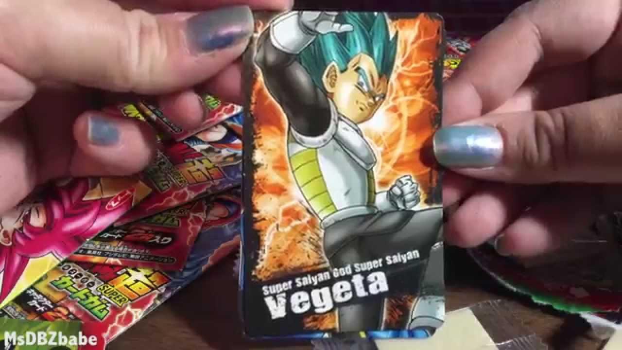 Whis Beerus 2 Dragon Ball Kai Super Card Gum