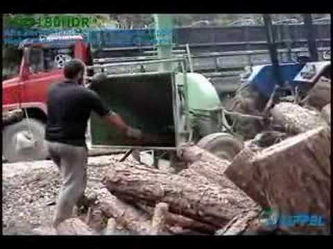 Wood Chipper Lippel - PDF 180HDR