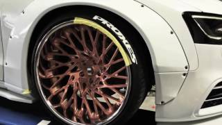 Optimus Performance Road 2 Sema- Liberty Walk Audi S5