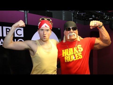Hulk Hogan talks waxing with Greg James
