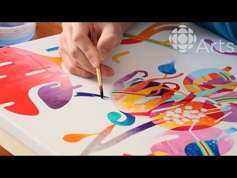 Visual Artist Takashi Iwasaki Loves Canada