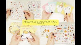 Aliexpress Stationery Haul Part 1