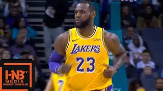 Los Angeles Lakers vs Charlotte Hornets 1st Qtr Highlights | 12.15.2018, NBA Season