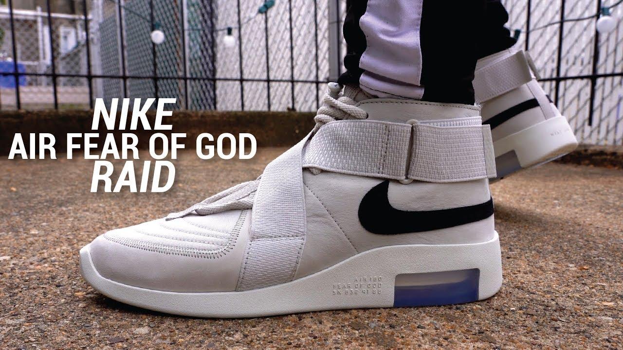 online retailer 0103e f3d01  SethFowler  NikeAirFearofGodRaid  FOG