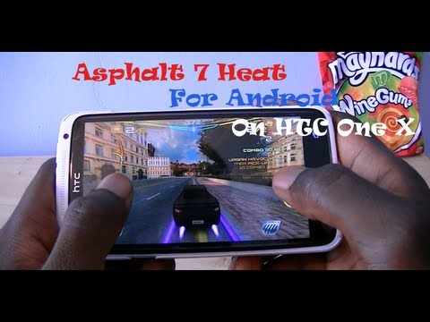 Asphalt 7 Heat For Android (HTC One X)