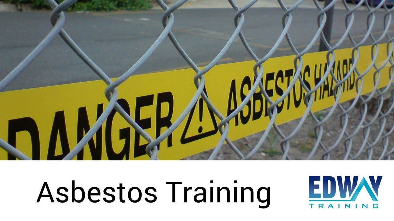 Non Friable Asbestos Removal Class B Training Course Edway