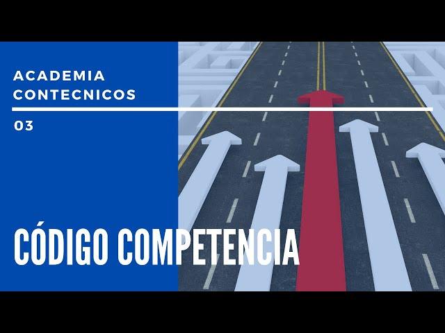 PODCAST CONTÉCNICOS - Emisión 03 - Código competencia
