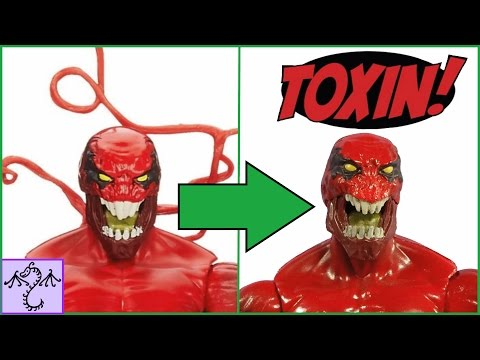Easy Fix for Marvel Legends Toxin's Face & Teeth