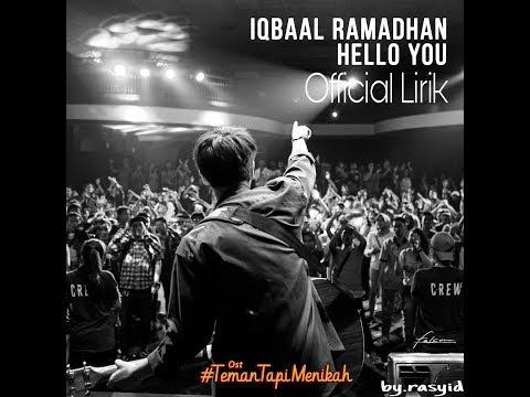 Iqbaal - HELLO YOU   Lirik Dan Terjemahan