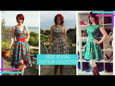 My Indie Sewing Pattern Collection 2017 :: Vlog 29