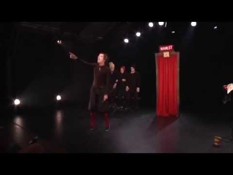 Hamlet en 30 minutes / Compagnie Bruitquicourt au domaine d'O le 10 decembre 2015