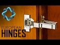 European Hinges for Cabinets - Video Guide