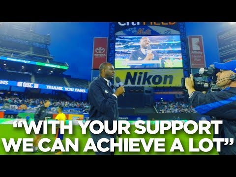 Patrick Vieira Addresses Fans After NYCFC Clinch First Round Bye in MLS Playoffs