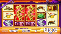 £129.27 MEGA BIG WIN (431 X STAKE) GAME OF DRAGON II™ JACKPOT PARTY® BEST ONLINE SLOT GAMES