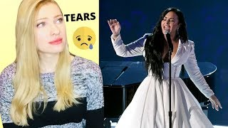 Vocal Coach/Musician Reacts: DEMI LOVATO Anyone Live At The Grammy's 2020