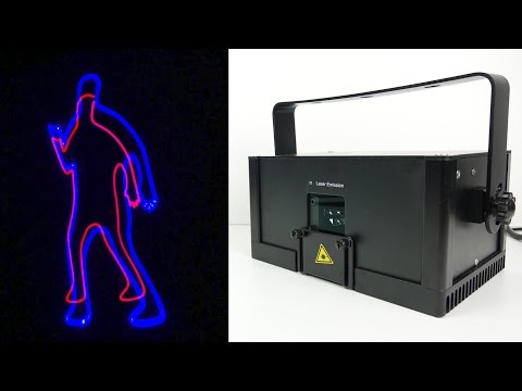 LaserDock - 'World's first Laser Entertainment System'  SETUP & DEMO