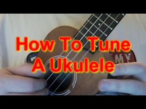 How to Tune A Ukulele!
