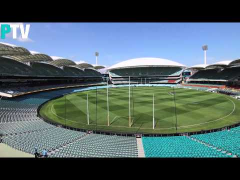 Adelaide Oval timelapse - Round 2, 2014