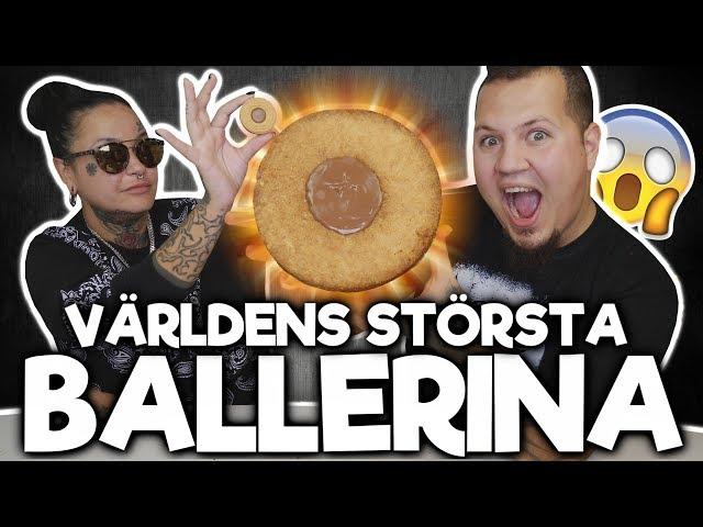 VÄRLDENS STÖRSTA BALLERINA