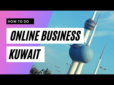 How to do online business in Kuwait with a social media platform.
