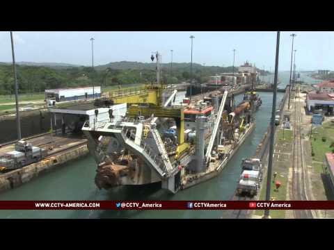 Panama Canal marks 100th anniversary