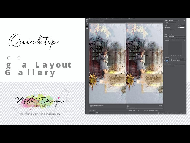 Quicktip - How to save your Layouts for a Gallery