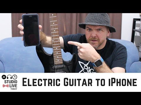 How To Connect An Electric Guitar To An IPhone Or IPad