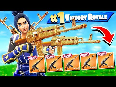 Win With ONLY One Gun! (Fortnite)