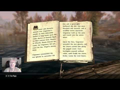 Allow the gamer grandma to soothe your weary soul with Skyrim book readings