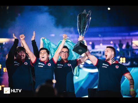 Gambit World champions! 🏆 PGL Major Krakow 2017 @ Winning moment 2:1 vs Immortals wins Grand Final