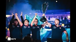 Gambit World champions! 🏆 PGL Major Krakow 2017 @ Winning moment vs Immortals Grand Final #CyberWins