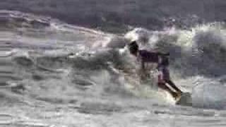 surfing Jamnesia Jamaica - the right