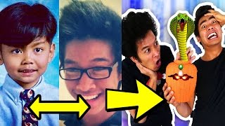 guava juice and marlin then and now 2017 cousins challenge youtubers