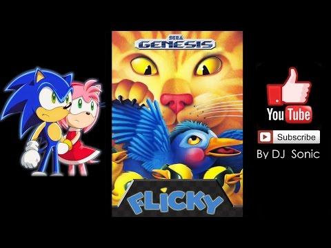 Flicky (Sega Genesis) - Longplay