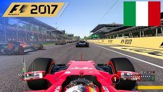 F1 2017 - 100% Race at Autodromo di Monza, Italy in Vettel