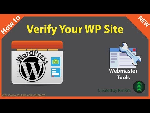How to Verify WordPress Site in Google Search Console - 동영상