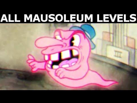 Cuphead Gameplay - All Mausoleum Levels (No Commentary Walkthrough)