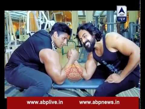 Hanuman-Raavan become friends