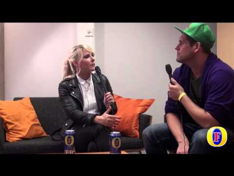 The Sounds Interview Maja Ivarsson Qstock 2015