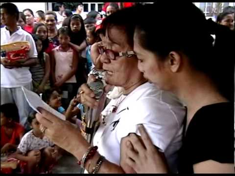 Gift Giving at San Agustin, San Miguel, Bulacan