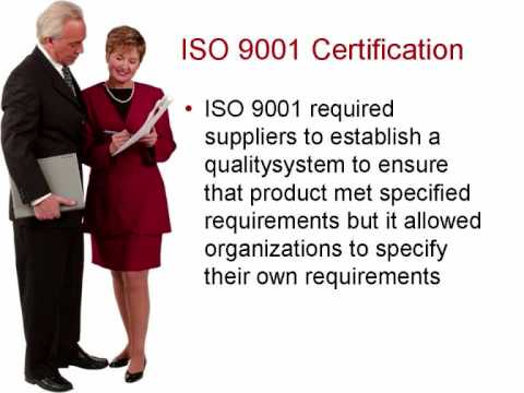 ISO 9001 Standards Certification